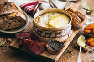 recette saison mont d'or truffe
